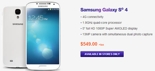 Samsung Galaxy S4 Is Arriving to MetroPCS Subscribers
