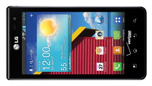 Verizon LG Optimus Exceed