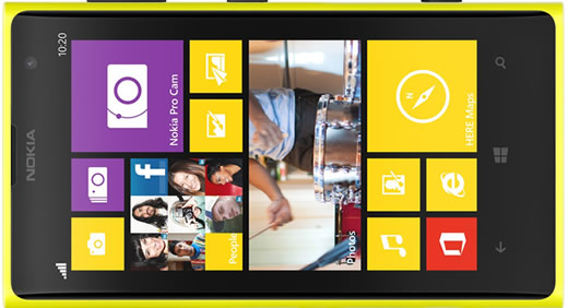 Prepaid Nokia Lumia 1020