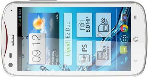 Three Acer Liquid E2