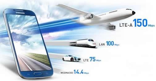 LTE A Samsung Galaxy S4